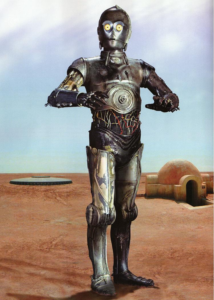 an analysis of the character of c 3po in star wars a movie by george lucas Study guide for star wars star wars study guide contains a biography of george lucas, literature essays, quiz questions, major themes, characters, and a full summary and analysis.