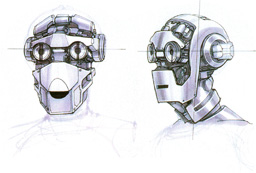 C-3P0 concept sketch by Doug Chiang