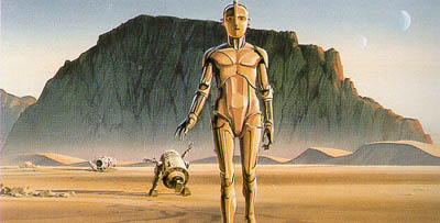 Concept painting by Ralph McQuarrie
